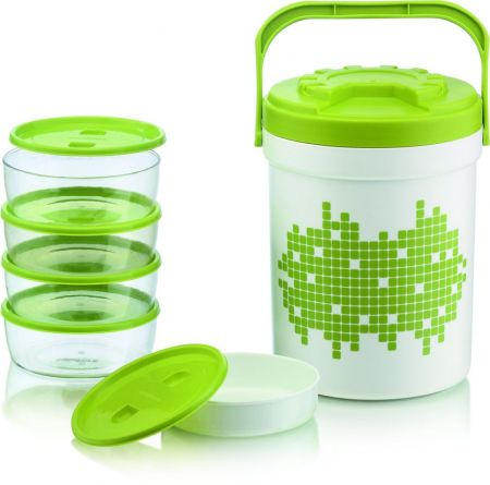 Set PICNIC TREAT 6 Piese, Hot&Cold, Verde0
