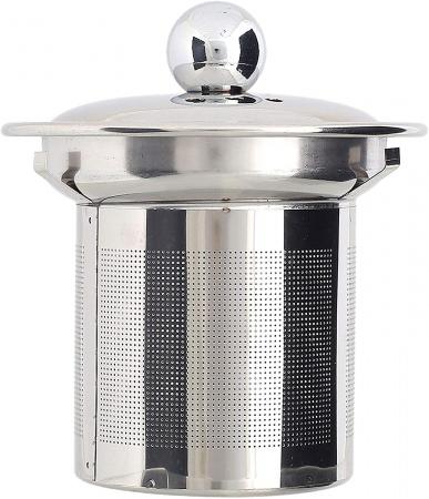 Set Ceainic si Ceasca din sticla termorezistenta, cu infuzor din Inox3