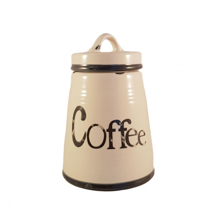 Set Ceramic COFFEE,SUGAR,TEA, 3 recipiente3