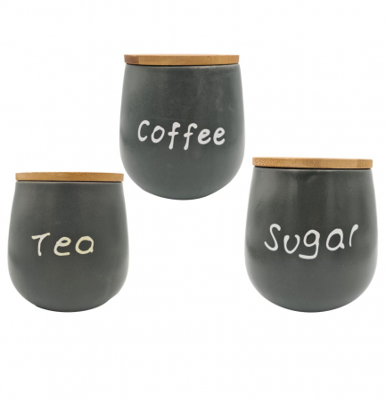 Set 3 recipiente SUGAR+TEA+COFFEE0