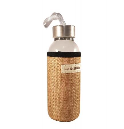 Sticla cu protectie Neopren, Bej, 300 ml0