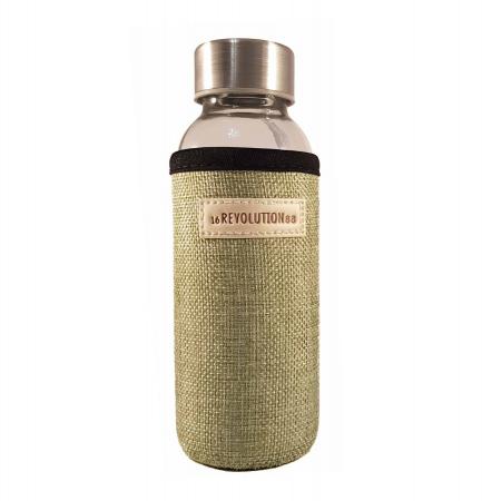 Sticla cu protectie Neopren,Verde, 300 ml1