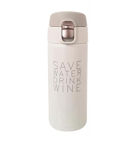 Termos Inox SAVE WATER DRINK WINE, 350 ML,0