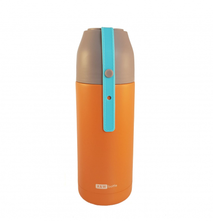 Termos din inox VOGUE Orange, 350 ml0