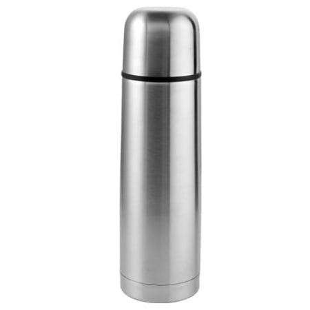 Termos din Inox capacitate 1 Litru, Argintiu [0]