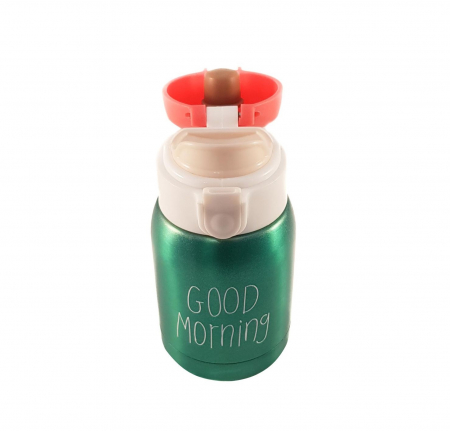 Mini Termos Good Morning, Verde, 180 ml1