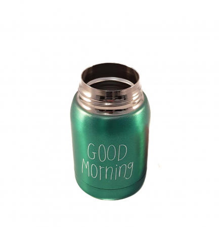 Mini Termos Good Morning, Verde, 180 ml3