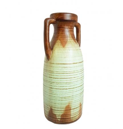 Vaza ceramica Amfora, Bleu, 38 cm2