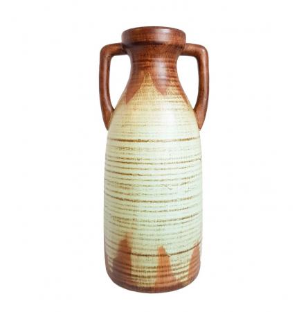 Vaza ceramica Amfora, Bleu, 38 cm0