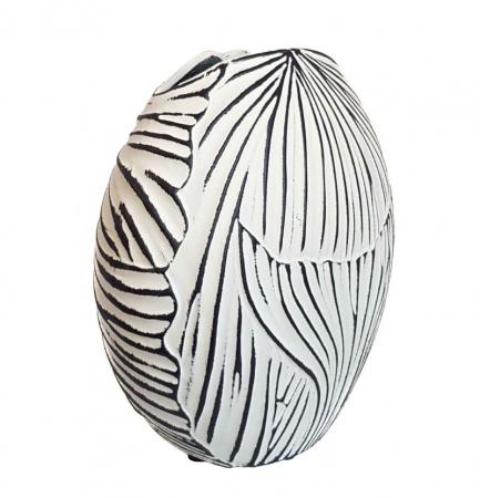 Vaza ceramica TERRA Ovala, 18 CM0