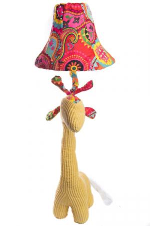 Veioza Girafa 3D din Plus, Galben1