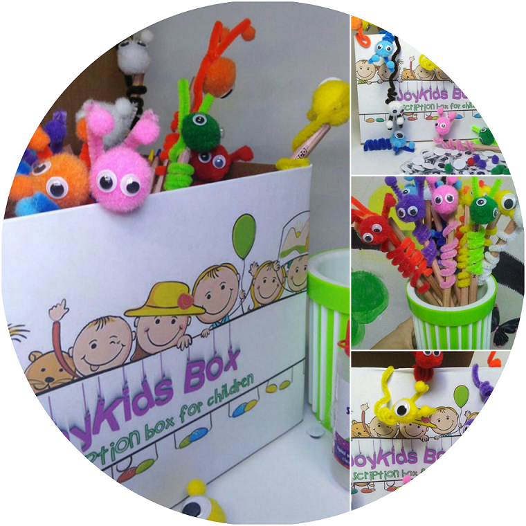 JOY KIDS SUBSCRIPTION BOX . - Distractie, creativitate , activitati educative in fiecare cutie