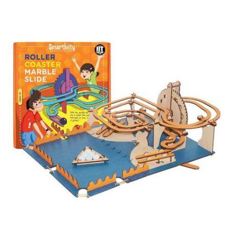 Circuit Roller-Coaster cu bilute de marmura 0