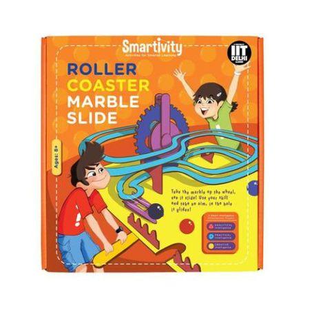 Circuit Roller-Coaster cu bilute de marmura 2