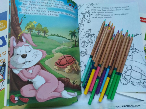 Colouring  Children CLUB - BOX 1