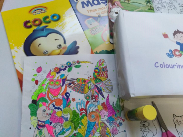 Colouring  Children CLUB - BOX 3