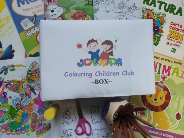 Colouring  Children CLUB - BOX 2