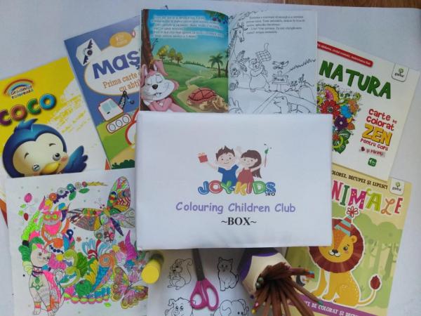 Colouring  Children CLUB - BOX 0