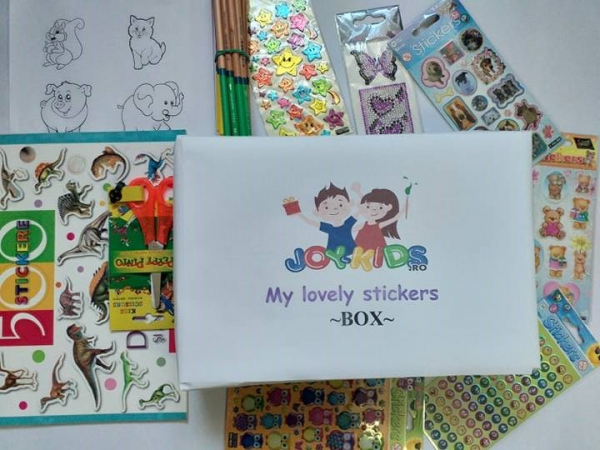 My lovely  stickers - BOX 0
