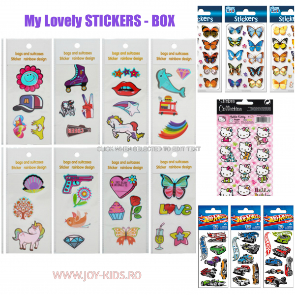 My lovely  stickers - BOX 1