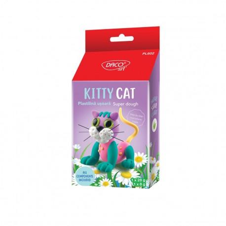 Plastilina usoara Kitty Cat