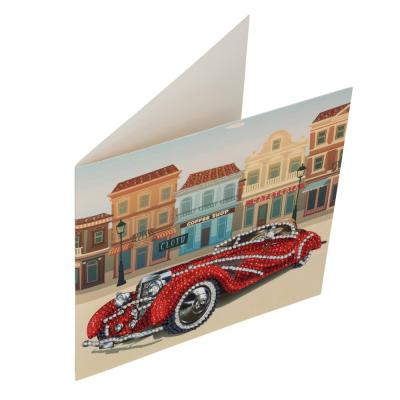 SET CREATIV TABLOU CU CRISTALE CLASSIC CAR 18X18CM, CRAFT BUDDY1
