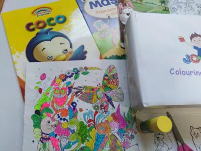 Colouring  Children CLUB - BOX3