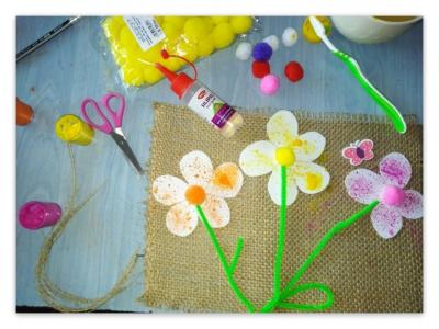 Flowers Kraft - BOX