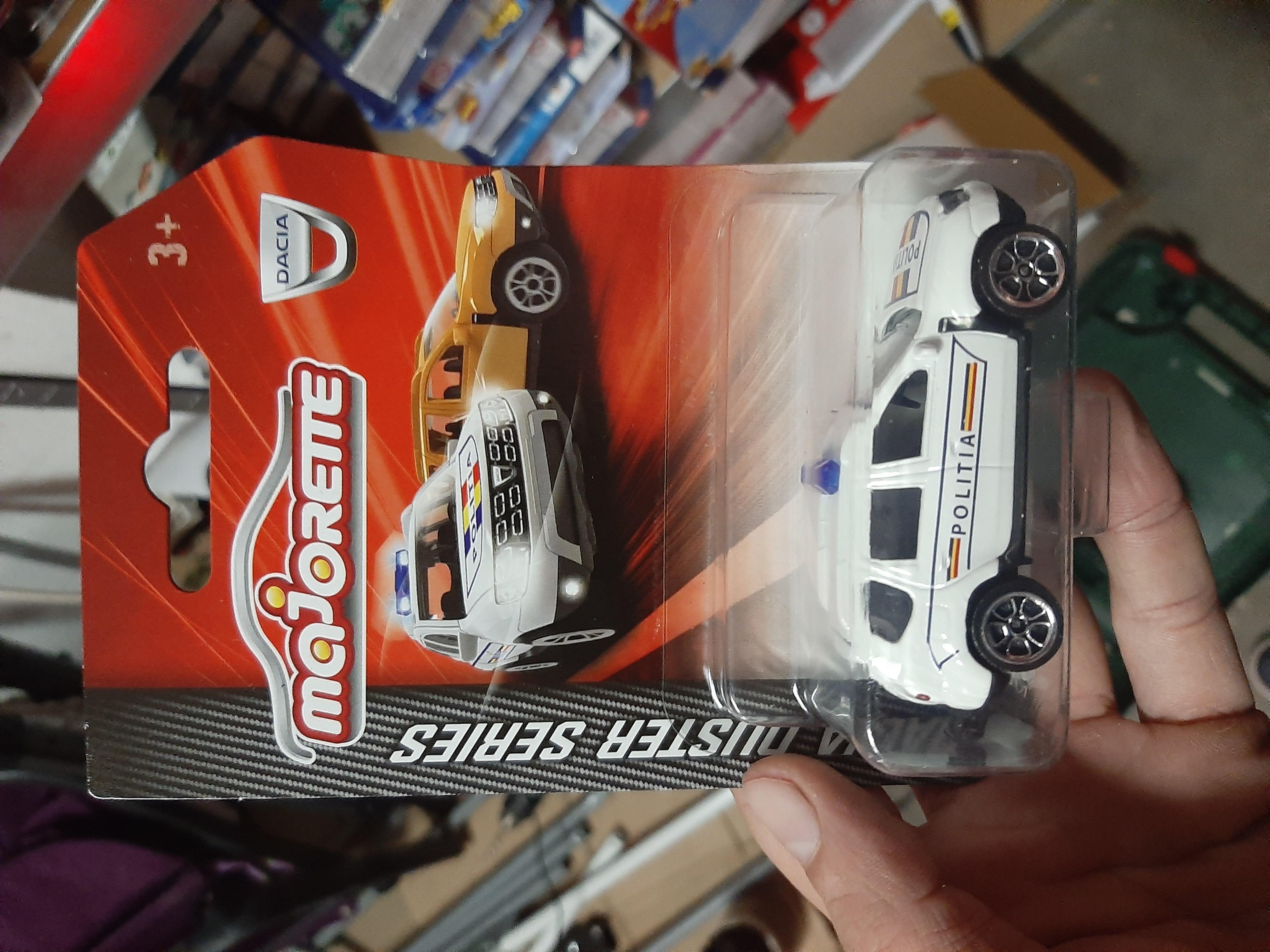 Masina de politie Majorette Dacia Duster 2