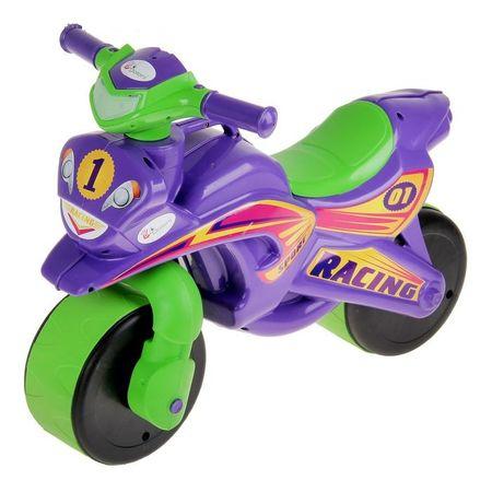 Motocicleta de impins MyKids Sport Music 0139/6 Mov Verde 0