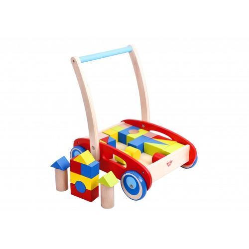 Antemergator cu cuburi lemn 0