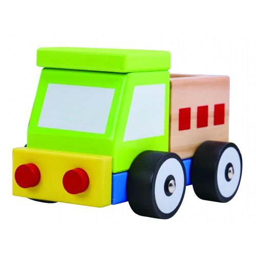 Camion colorat de lemn 0