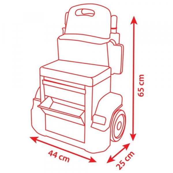 Atelier Smoby Cars XRS Mack cu accesorii 4