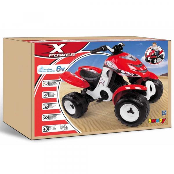 ATV electric Smoby X Power rosu 2