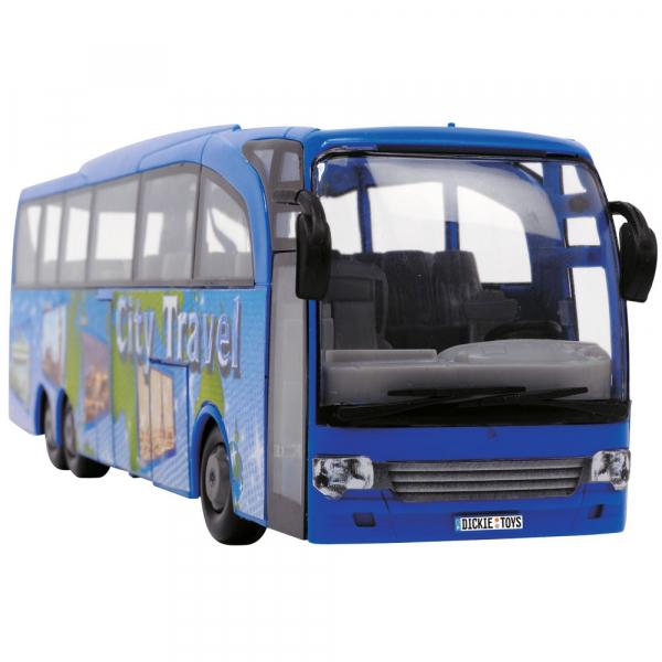 Autobuz Dickie Toys Touring Bus albastru [0]