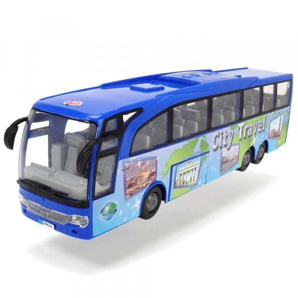 Autobuz Dickie Toys Touring Bus albastru [2]
