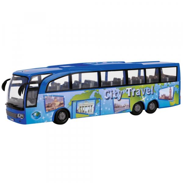 Autobuz Dickie Toys Touring Bus albastru [1]