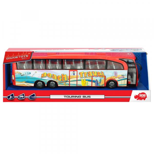 Autobuz Dickie Toys Touring Bus rosu 3