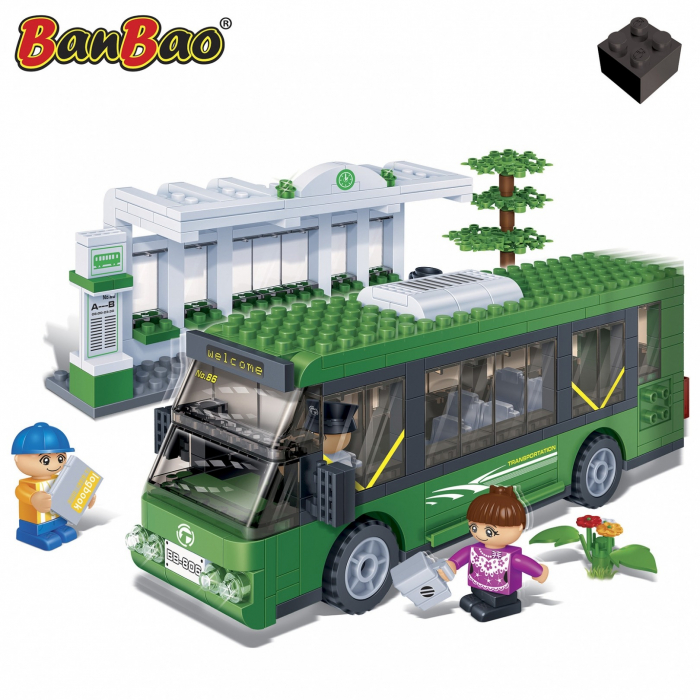 Autobuz, 372 piese + 3 figurine 1