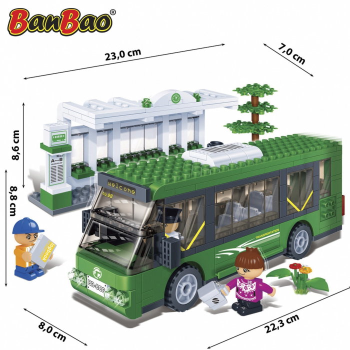 Autobuz, 372 piese + 3 figurine 2