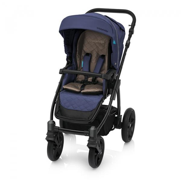 Baby Design Lupo Comfort 03 Navy 2018 - Carucior Multifunctional 3 in 1 2