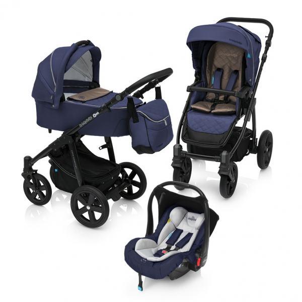 Baby Design Lupo Comfort 03 Navy 2018 - Carucior Multifunctional 3 in 1 0