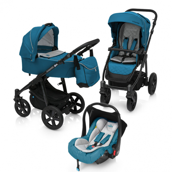 Baby Design Lupo Comfort 05 Turqouise 2018 - Carucior Multifunctional 3 in 1 0
