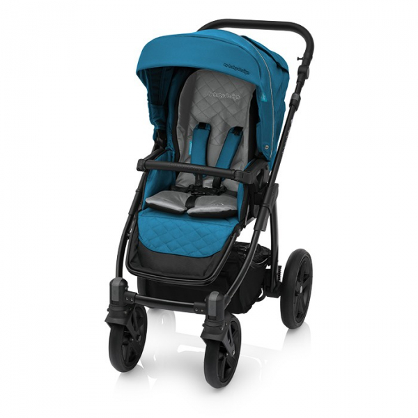 Baby Design Lupo Comfort 05 Turqouise 2018 - Carucior Multifunctional 3 in 1 2