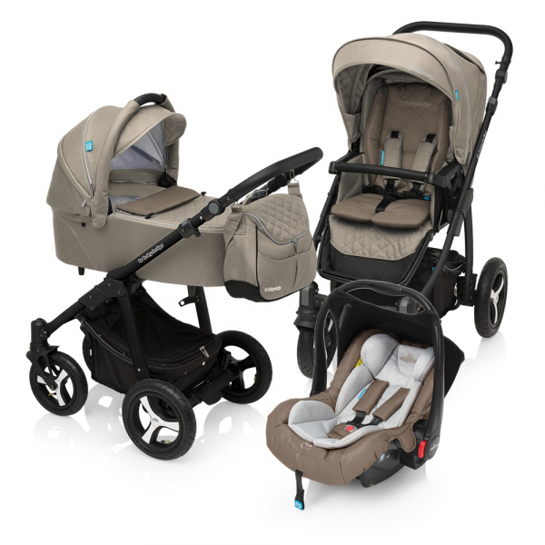 Baby Design Lupo Comfort 09 Beige 2017 - Carucior Multifunctional 3 in 1 0