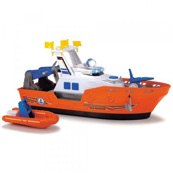 Barca de salvare Dickie Toys Harbour Rescue DT-37 cu accesorii 0