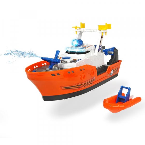 Barca de salvare Dickie Toys Harbour Rescue DT-37 cu accesorii 1