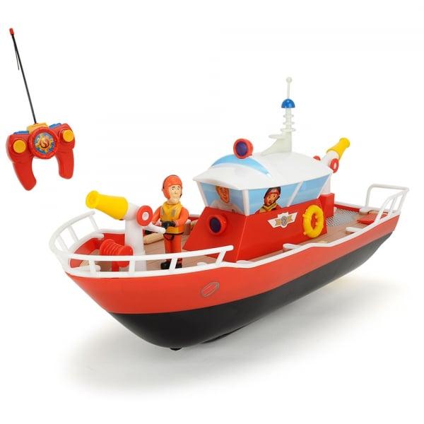 Barca Dickie Toys Fireman Sam Titan cu telecomanda si figurina Sam 0
