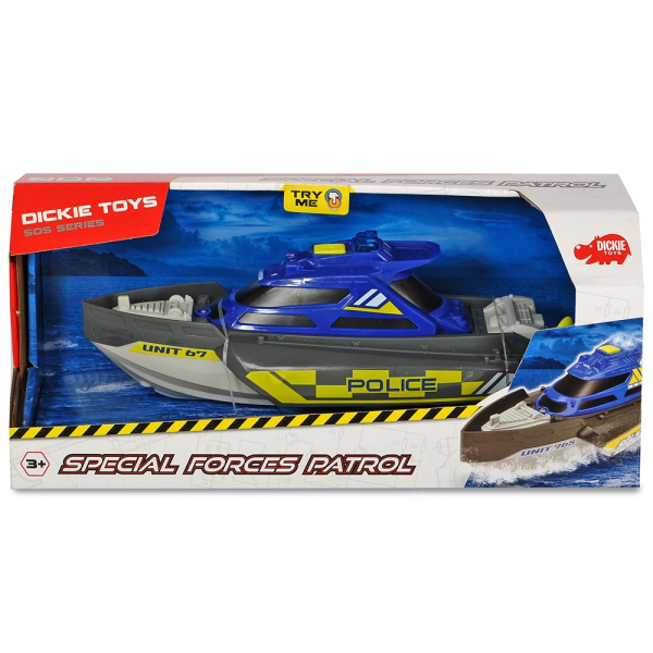 Barca Dickie Toys Special Forces Patrol Unit 765 2