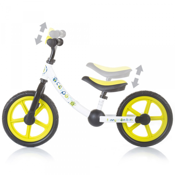 Bicicleta fara pedale Chipolino Casper best racers [2]